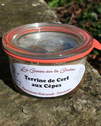 Terrine de Cerf aux Cèpes