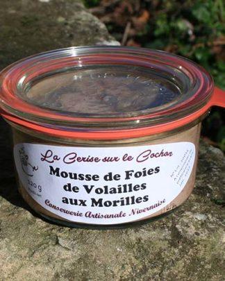 Mousse de Foie de Volailles aux Morilles