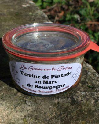 Terrine de Pintade au Marc de Bourgogne