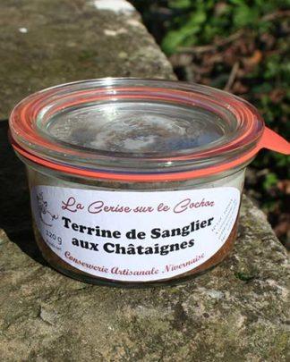 Terrine de Sanglier aux Châtaignes