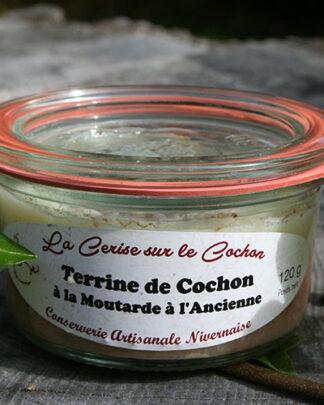 Terrine de Cochon à la Moutarde à l'Ancienne