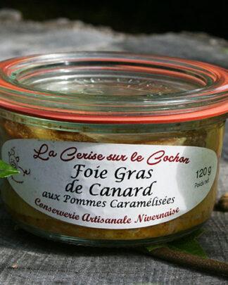 Foie Gras de Canard aux Pommes Caramélisées